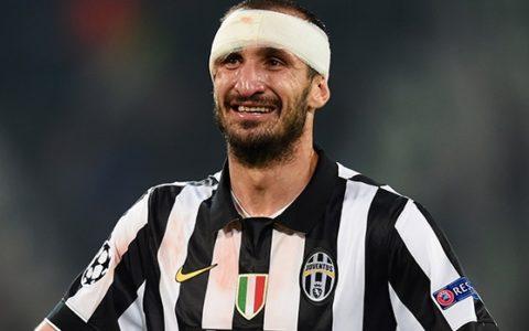 7 motivi per amare il difensore della Juventus Giorgio Chiellini