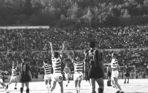 Il Celtic sconfisse l'Inter nella finale di Coppa dei Campioni del 1967