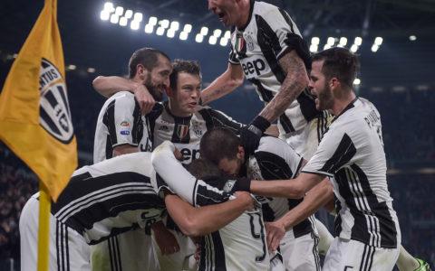 Juventus esultanza 2017