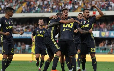 Gol Bernardeschi Chievo-Juventus